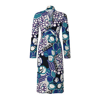NoLoGo Printed Long Sleeve Easy Jersey Dress