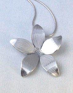 Flower Sterling Silver Pendant
