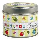 'Thank You Teacher' Scented Candle