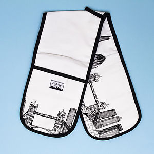 London Skyline Oven Glove - kitchen accessories