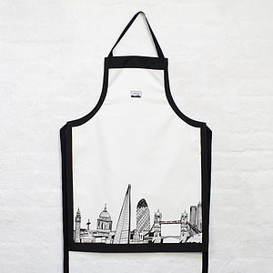 London Skyline Apron - kitchen accessories
