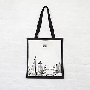 London Skyline Bag - bags