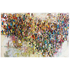 Fragments Print - modern & abstract