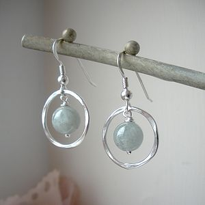 Aquamarine Earrings - jewellery