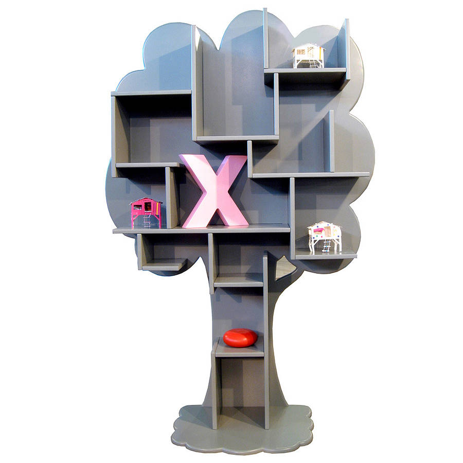 tree bookcase by idyll home ltd. Black Bedroom Furniture Sets. Home Design Ideas