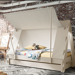 Children's Tent Bed - more