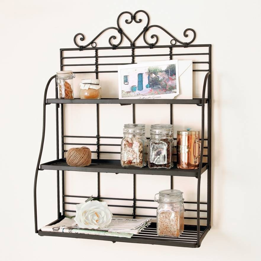 Decorative Heart Wall Shelf By Dibor
