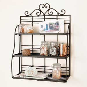 Decorative Heart Wall Shelf - storage & organisers
