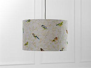Garden Birds Lampshade - lamp bases & shades