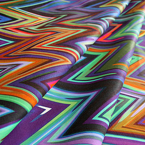 Zig Zag Fabric By The Metre