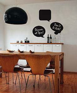 Speech Bubble Wall Stickers - wall stickers by room
