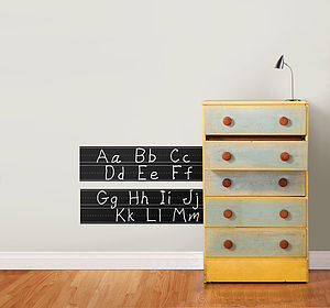 Learn To Write Wall Stickers - office & study