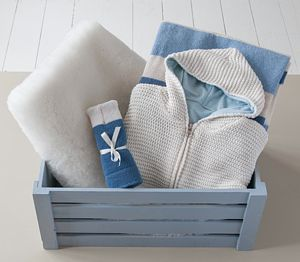 Going Out Wool Gift Hamper - christening gifts