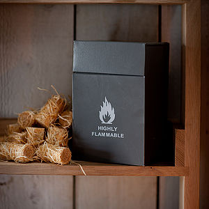 Firelighter Box - fireplace accessories