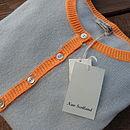 Colour Lt Grey with Orange Contrast