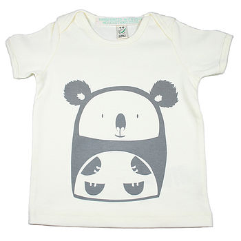 Cuddly Koala Organic Cotton T Shirt