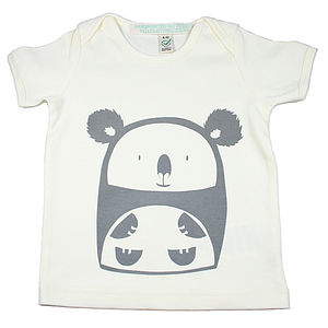 Cuddly Koala Organic Cotton T Shirt - clothing