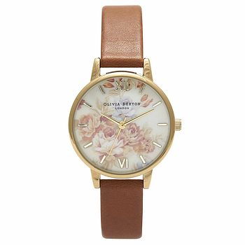 Wonderland Watch In Floral Tan