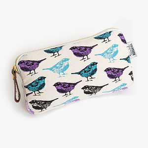 Birds Zip Purse - bags & purses