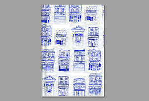 Houses Illustration Book