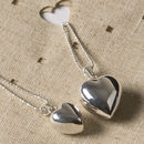 Chiming Heart Mum And Me Necklaces