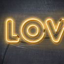 Personalised Neon 'Chalk Board Love' Poster