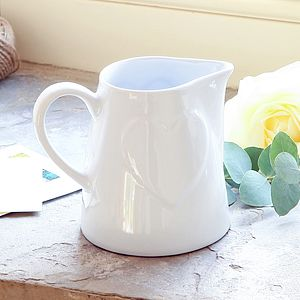 Country Heart Flower Jug