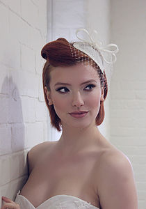 50s Style Bridal Headpiece