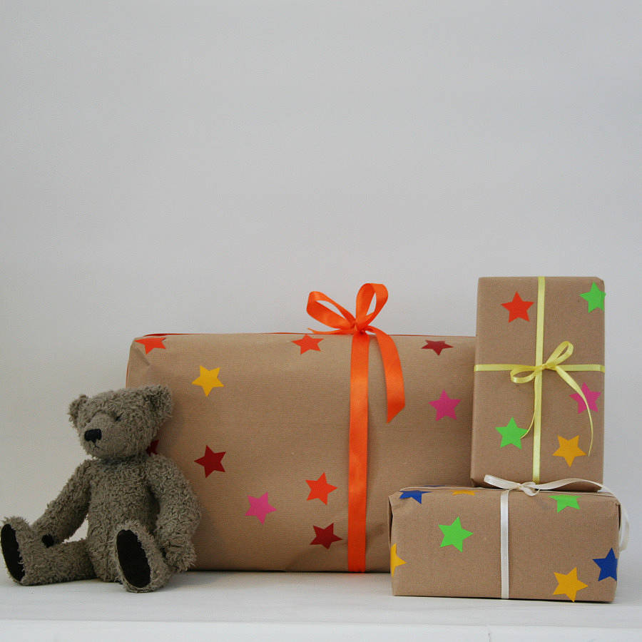 Create your own gift wrap for children by minna 39 s room - Create your own room ...