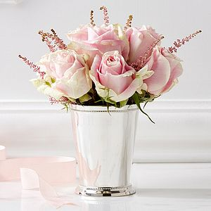 Silver Posy Cup - decorative accessories