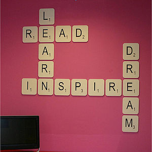 Giant Scrabble Wall Letter - baby & child