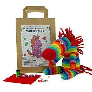 Sock Pony Craft Kit - crafts & creative gifts