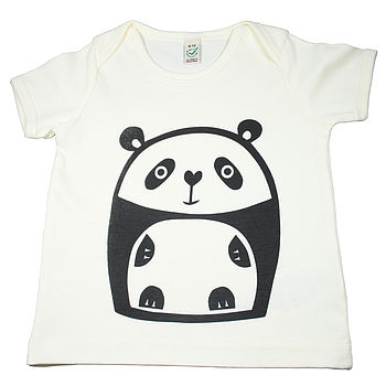 Panda Organic Cotton T Shirt