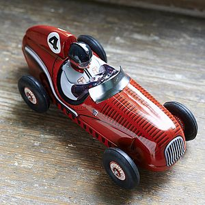 Red Racing Car Toy - keepsakes