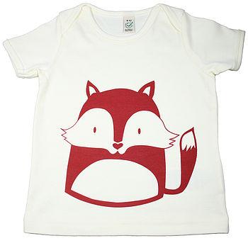 Little Fox Organic Cotton T Shirt