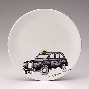 Taxi Side Plate - crockery & chinaware