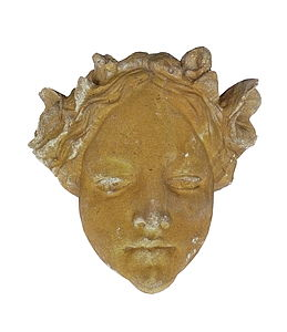 Decorative Stone Face - art & decorations