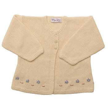 Cashmere Forget Me Not Cardigan