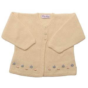 Cashmere Forget Me Not Cardigan - christeningwear
