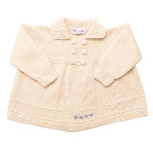 Cashmere Train Coat - christeningwear