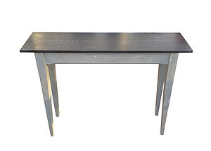 Zinc Topped Console Table - living room