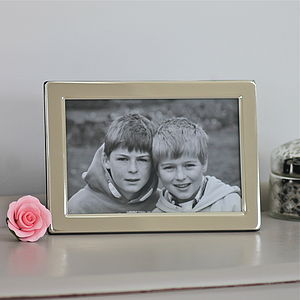 Silver Plated Photo Frame ~ Small - picture frames