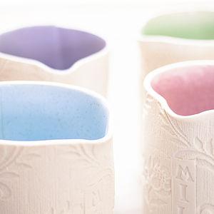 Floral Printed Porcelain Milk Jug - ceramics