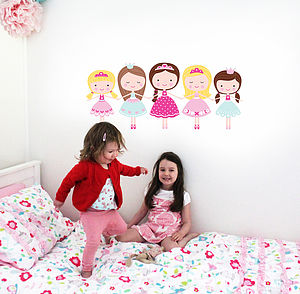 Ballerina Wall Stickers - baby's room