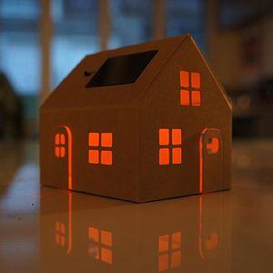Solar Powered House Night Light