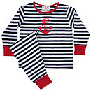 Striped Anchor Pyjamas