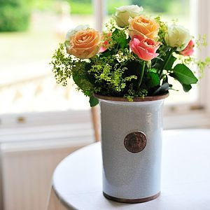 Kew Royal Botanical Gardens Cylinder Vase - gifts for the home