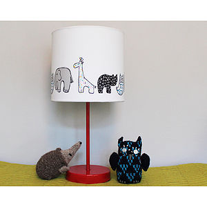 Handmade Animal Nursery Lampshade