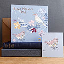 Blackbirds Mother's Day Card