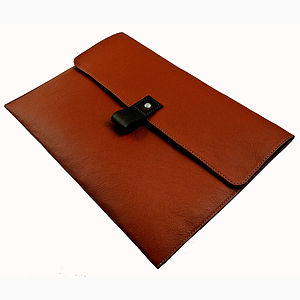 Tan Leather 11 Inch Macbook Air Case - women's sale